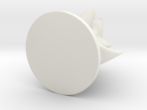 Totodile Pokémon Miniature in White Natural Versatile Plastic