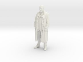 Printle F Georges Pompidou - 1/24 - wob in White Natural Versatile Plastic