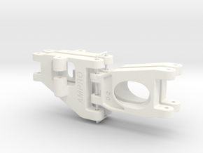 056001-01 Falcon Upper & Lower Arms in White Processed Versatile Plastic