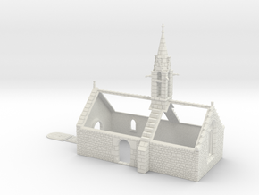 HORelCh02 - Chapel of Brittany in White Natural Versatile Plastic
