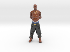Mini-Tupac in Glossy Full Color Sandstone