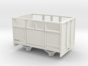 1:32/1:35 sheep wagon medium in White Natural Versatile Plastic