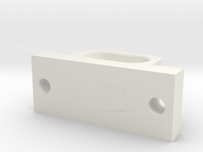 JaBird RC Fairlead - Bumper Mounted in White Natural Versatile Plastic