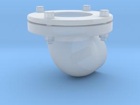Wasserkastenverbindungsrohrbogen in Smooth Fine Detail Plastic