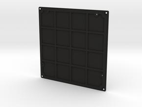 Darth Vader Chest box Back lid in Black Natural Versatile Plastic