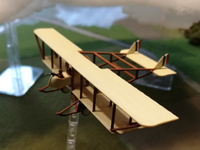"Maurice Farman MF.11 ""Shorthorn"" in White Strong & Flexible: 1:144"