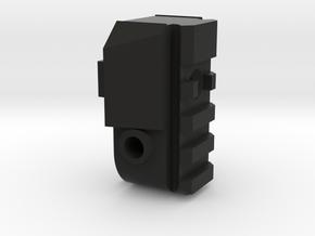 lancer tactical warlord lt-200 back plug in Black Natural Versatile Plastic