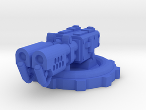 Fire Turret in Blue Processed Versatile Plastic
