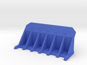 Sistes Dozer Blade in Blue Processed Versatile Plastic