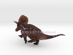 Torosaurus in White Strong & Flexible: Extra Small