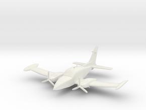 Cessna 310 in White Natural Versatile Plastic