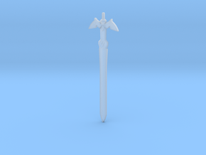 The Master Sword in Smooth Fine Detail Plastic