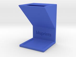 Pen Holder in Blue Processed Versatile Plastic