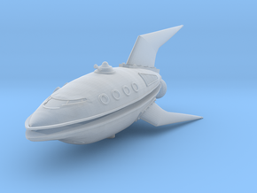 Planet Express Ship in Smooth Fine Detail Plastic