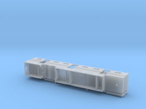 HO 1/87 Horsebox 62' Semi 01 in Smooth Fine Detail Plastic