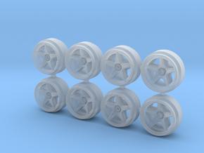 OZ Centerlock 9 Hot Wheels Rims in Smoothest Fine Detail Plastic