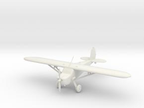 Cessna 120 in White Natural Versatile Plastic