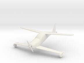 Rutan Quickie Q200 in White Natural Versatile Plastic