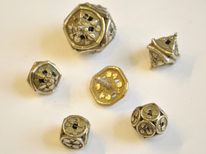 Pizza Dice Set - Balanced in Stainless Steel