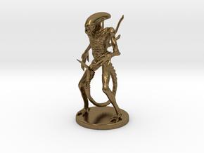 Xenomorph Miniature in Natural Bronze: 1:60.96