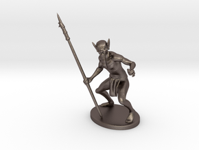 Ur-Vile Miniature in Polished Bronzed Silver Steel: 1:60.96