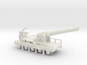 canon de 240 sur affut truc mle 70-81 1/76 railway in White Natural Versatile Plastic