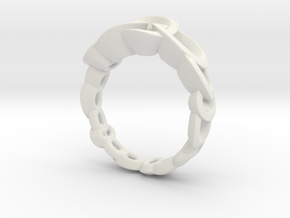 Neitiri Easy Love Ring (From $19) in White Natural Versatile Plastic: 6.5 / 52.75