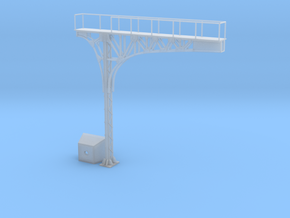 HO Scale ATSF Style Cantilever RH 85% w base in Smooth Fine Detail Plastic