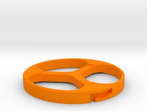 WEIGHT20 CARRIER CAP in Orange Processed Versatile Plastic