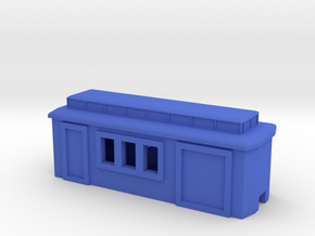 Tin Hare Combine in Blue Processed Versatile Plastic