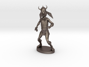 Snarf Miniature in Polished Bronzed Silver Steel: 1:60.96
