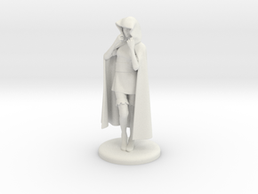 Sheila the Thief Miniature in White Natural Versatile Plastic: 1:48 - O