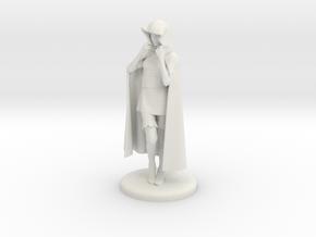 Sheila the Thief Miniature in White Natural Versatile Plastic: 1:48 - O