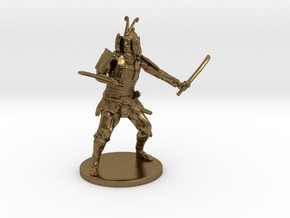 Samurai Miniature in Natural Bronze: 1:55