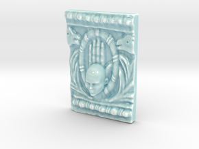 Personalised The Divine Hand Relief in Gloss Celadon Green Porcelain