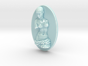 Personalised Venus De Milo Relief in Gloss Celadon Green Porcelain