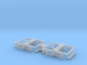 V&T Kimball Baggage Cars #1 And #2 Truck in Smoothest Fine Detail Plastic