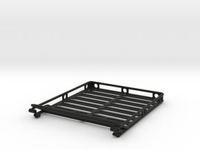 Roof Rack w/ light bar mount in Black Natural Versatile Plastic