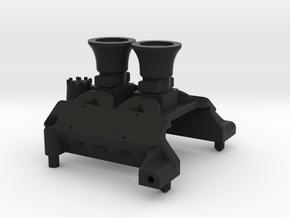 SMT10  Engine Block V2 in Black Natural Versatile Plastic