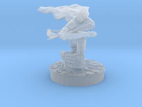 Half Elf Ranger in Smooth Fine Detail Plastic