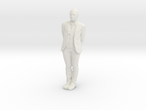 Printle F Chen Duxiu - 1/20 - wob in White Natural Versatile Plastic