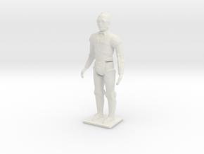 "C3PO 2"" in White Natural Versatile Plastic"