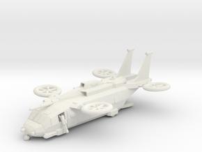 15mm MVX-7G Cheyenne in White Natural Versatile Plastic