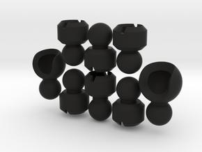 Segmented Tentacle for ModiBot  in Black Premium Strong & Flexible
