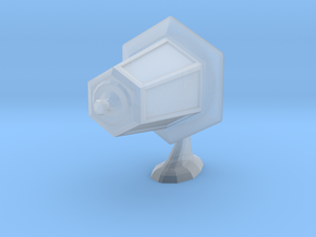 Printle Thing Wall Lamp 1/24 in Smooth Fine Detail Plastic