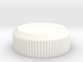 MYSTERY KNOB in White Processed Versatile Plastic