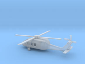 1/285 Scale UH-60 in Smooth Fine Detail Plastic