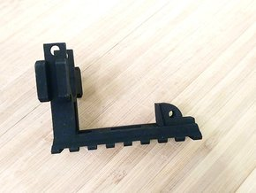 AUG Barrel Stabilizer with Rails in Black Natural Versatile Plastic