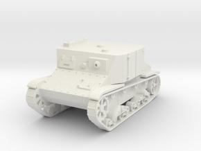 TR-4 1:87 in White Natural Versatile Plastic