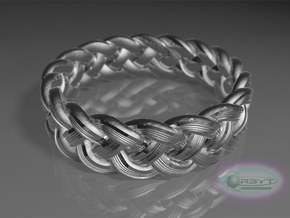 Best Celtic Knot Ring - US size 10 in Polished Silver